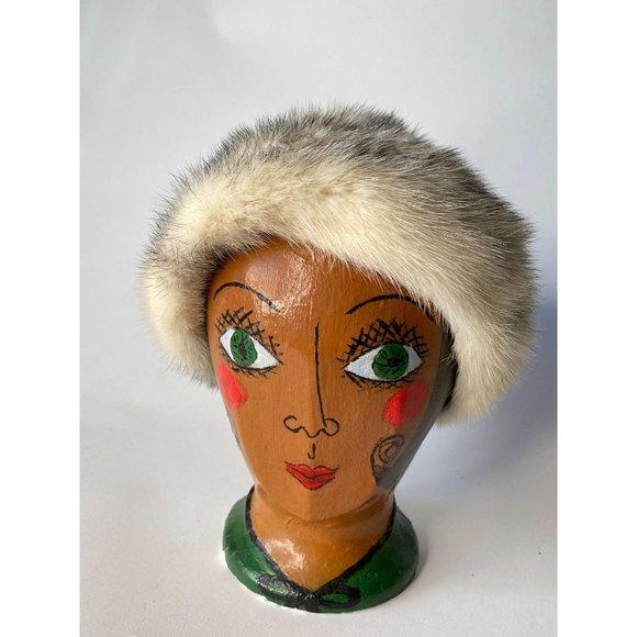 Mr Henry Vintage Fur Hat